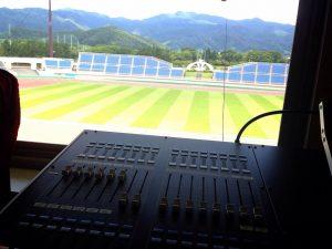 モンテディオ山形ホームゲーム電光掲示板放送